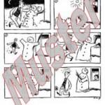 Material 2: Bildergeschichte Der wehrhafte Schneemann